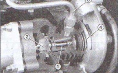 Турбокомпрессор Audi 80 (B4) 1991-1995 г. в.