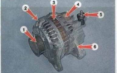 Генератор Mazda 3 (BK)