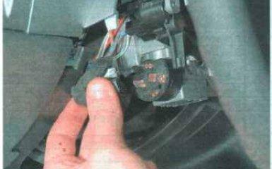 Выключатель (замок) зажигания Daewoo Nexia N100