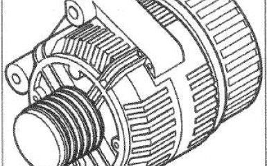Генератор Citroen C4, 1 поколение