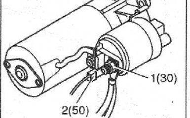 Замена стартера Citroen C4, 1 поколение