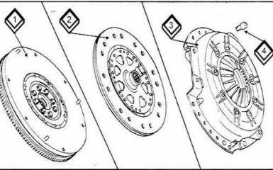 Сцепление Audi 100 c 1990 - 1994 гг.