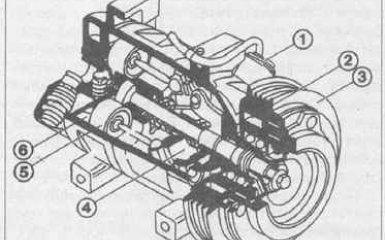 Кондиционер Mercedes-Benz W210 c 1995 гг.