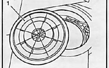 Топливный насос Opel Astra H / Zafira B 2004 - 2009 гг. - снятие и установка