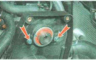 Масляный насос Daewoo Nexia с 1994 г.г. - снятие, проверка и установка