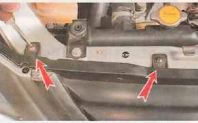 Замена решетки радиатора Honda CR-V 1