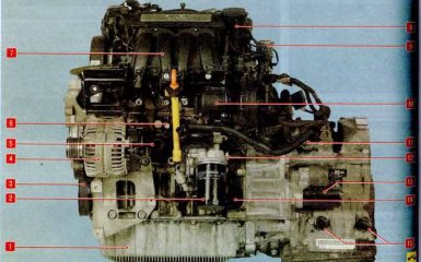 Двигатель Skoda Octavia A5 с 2004 гг.
