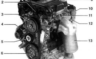 Двигатели Opel Corsa 3 (C)