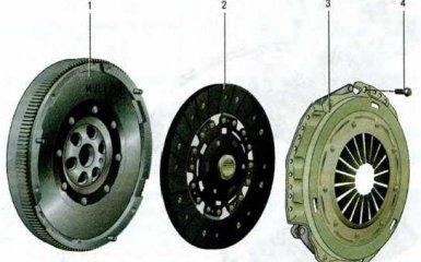 Сцепление Skoda Octavia A5