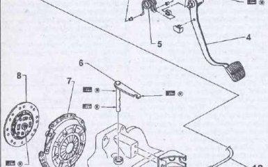 Сцепление Nissan Primera P11
