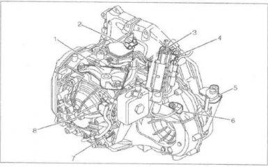 АКПП Citroen C5 с 2000 - 2004 гг.