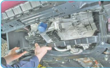 Снятие МКПП Hyundai Solaris (RB), 2010 - 2017 г.в.