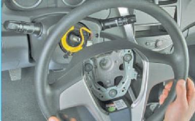 Замена рулевой колонки Hyundai Solaris (RB), 2010 - 2017 г.в.