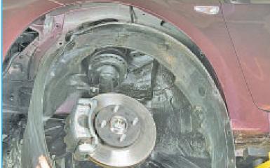 Снятие переднего бампера Hyundai Solaris (RB), 2010 - 2017