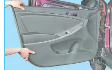 Замена переднего стекла Hyundai Solaris (RB), 2010 - 2017