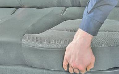 Снятие заднего сиденья Hyundai Solaris (RB), 2010 - 2017