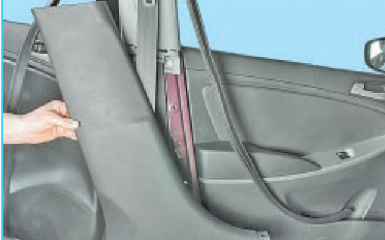 Датчики удара Hyundai Solaris (RB), 2010 - 2017: где находятся, как заменить