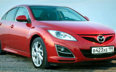 Замена ламп Mazda 6 (GH), 2007 - 2012
