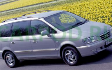 Предохранители и реле Hyundai Trajet (FO), 1999 - 2008