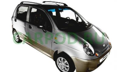 Предохранители и реле Daewoo Matiz (M150), 2000 - 2015