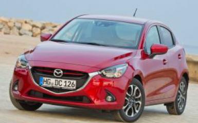 Предохранители Mazda 2 (DJ), 2014 - 2019