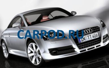 Предохранители Audi TT (8J), 2006 - 2014