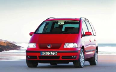 Предохранители и реле Volkswagen Sharan (7M), 1995 - 2010