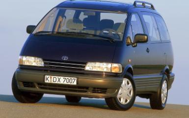 Предохранители Toyota Previa (XR10), 1990 - 1999