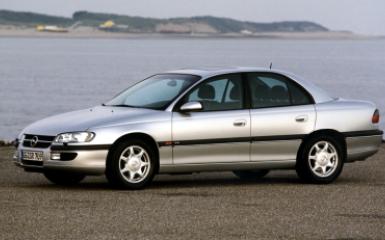 Предохранители Opel Omega B, 1994 - 2003