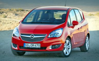 Предохранители и реле Opel Meriva B, 2009 - 2017