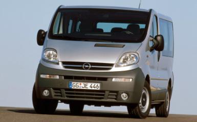Предохранители Opel Vivaro A, 2001 - 2014