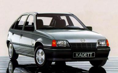Предохранители Opel Kadett E, 1984 - 1991
