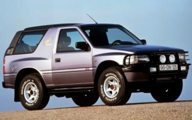 Предохранители и реле Opel Frontera A, 1991 - 1998