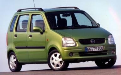 Предохранители Opel Agila A, 2000 - 2007