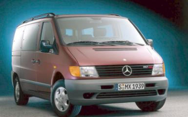 Предохранители Mercedes Vito (W638), 1996 - 2003