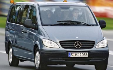 Предохранители Mercedes Vito (W639), 2003 - 2010