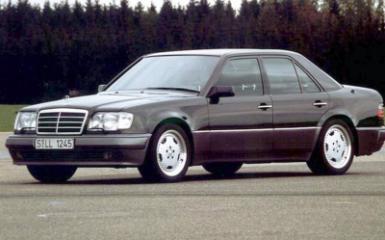 Предохранители Mercedes W124, 1984 - 1996
