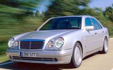 Предохранители Mercedes W210, 1995 - 2002