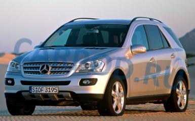 Предохранители Mercedes W164, 2005 - 2011