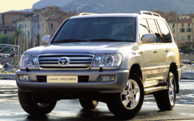 Предохранители Toyota Land Cruiser 200, 2007 - 2015