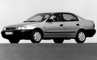Предохранители и реле Toyota Carina E (T190), 1992 - 1998