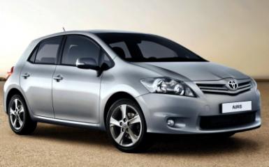 Предохранители Toyota Auris (E150), 2007 - 2012
