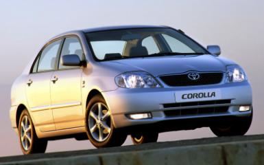 Предохранители Toyota Corolla (Е120), 2000 - 2007