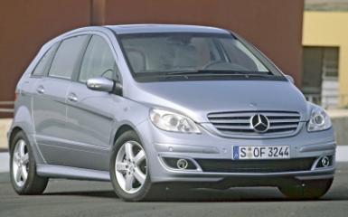 Предохранители и реле Mercedes W245, 2005 - 2012