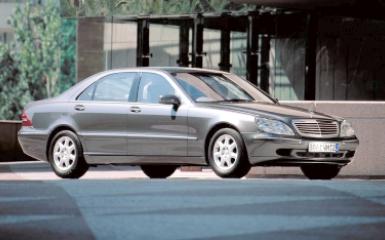 Предохранители и реле Mercedes W220, 1998 - 2005
