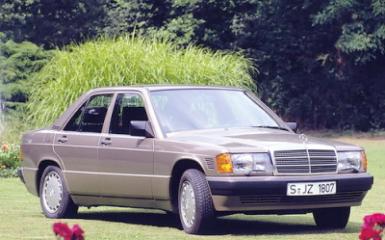 Предохранители и реле Mercedes 190 (W201), 1983 - 1993