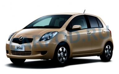 Предохранители и реле Toyota Vitz (XP90), 2005 - 2010