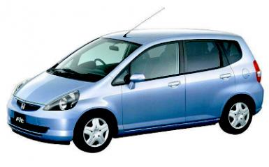 Предохранители и реле Honda Fit/Jazz (GD), 2001 - 2007