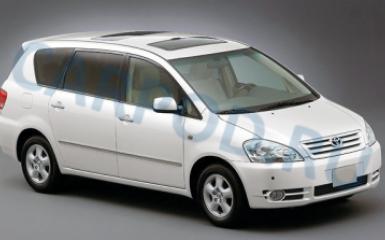 Предохранители и реле Toyota Ipsum (ACM20), 2001 - 2009