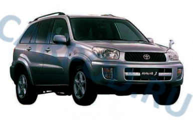 Предохранители Toyota RAV4 (XA20), 2000 - 2005